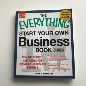 Everything Start Your Own Business Book